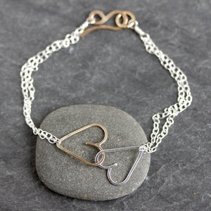 Harvey Bracelet - Mixed Metals | Rebecca Haas Jewelry