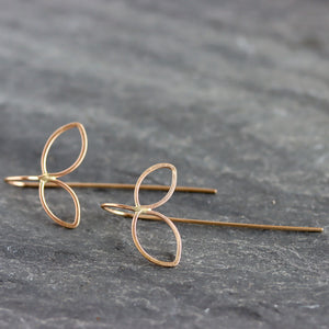 Petal Threader Earrings