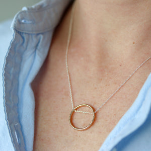 Tangent Necklace