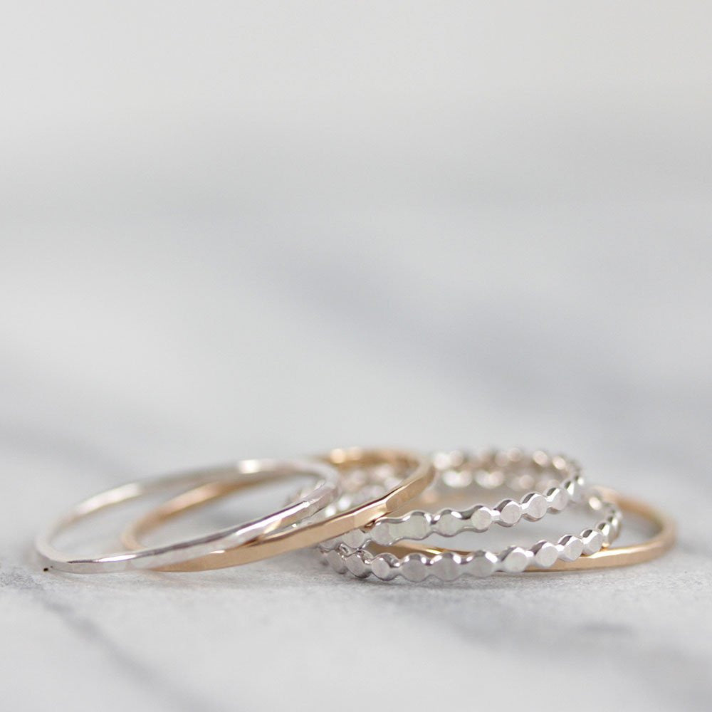 Mixed Stack: Set of 5 Stacking Rings
