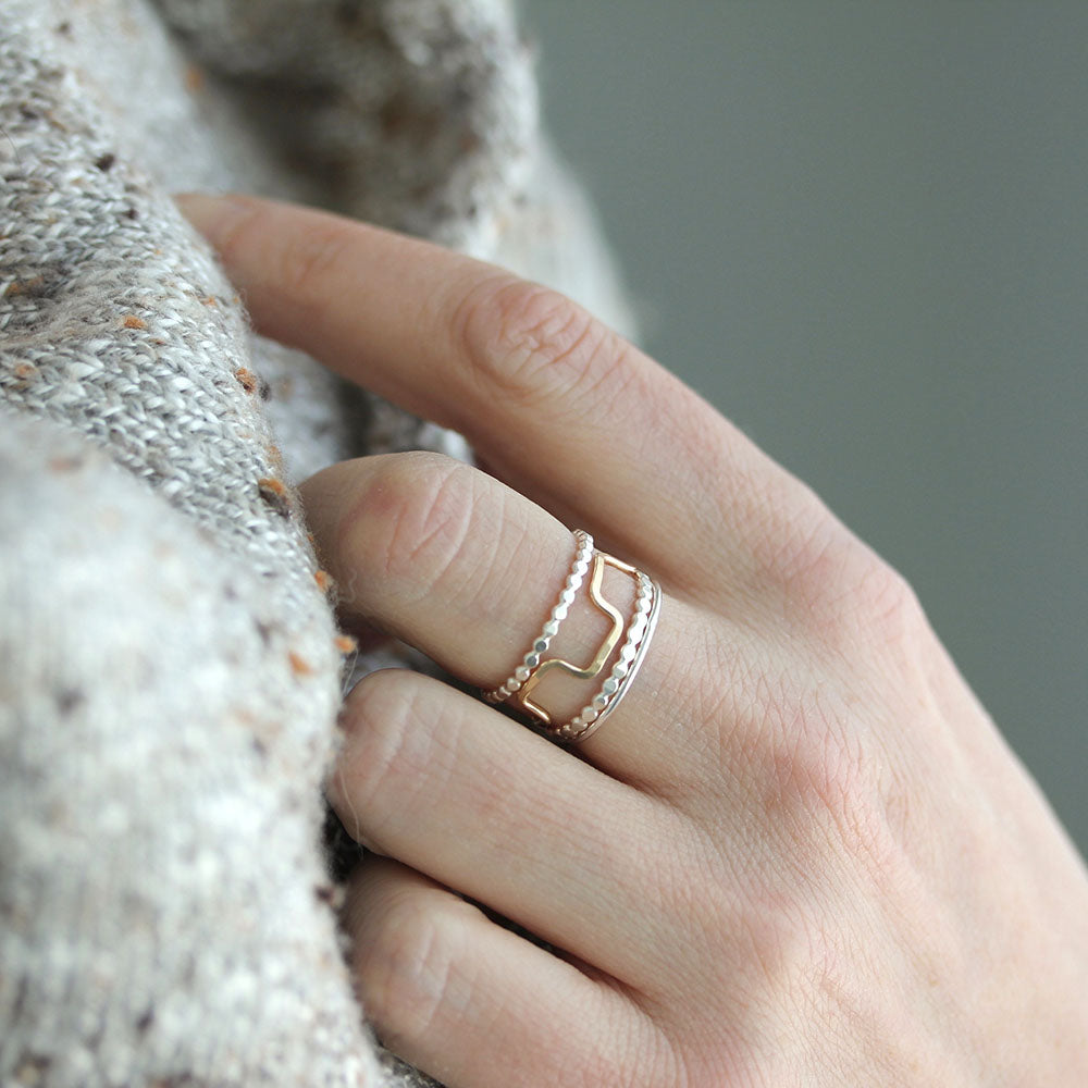 Citadel Stack - Set of Four Stacking Rings