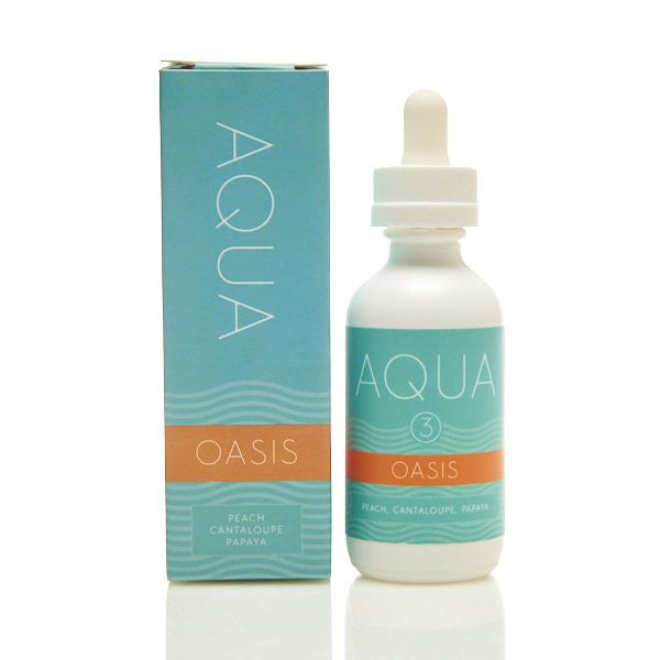 Oasis Peach Cantaloupe Papaya 60ML | Aqua by Marina Vape