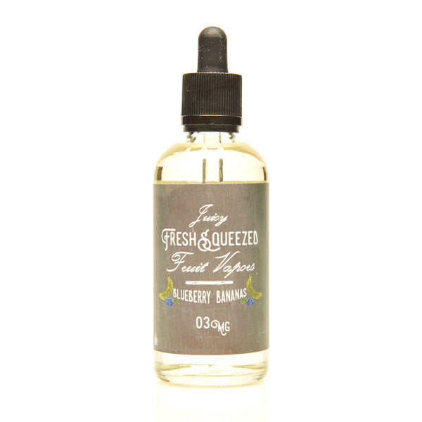 Blueberry Bananas 100ml | Juicy Fresh Squeezed Fruit Vapors