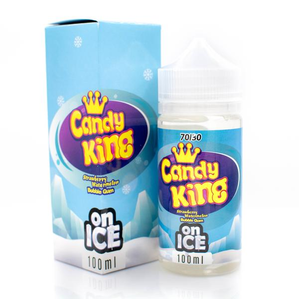 Strawberry Watermelon on Ice 100ML | Candy King by Dripmore