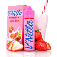 V Nilla Strawberry Milk 60ml | Tinted Brew