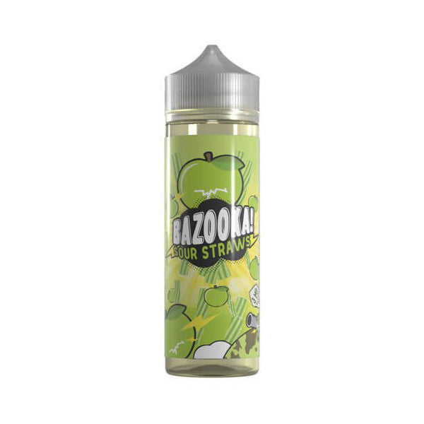 Green Apple Sour Straws 60ML | Bazooka Vape