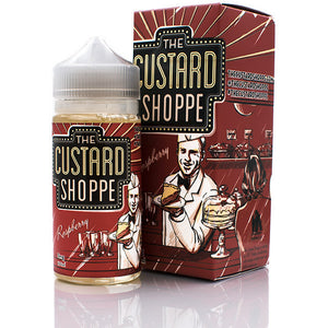 The Custard Shoppe Raspberry eLiquid 100ML