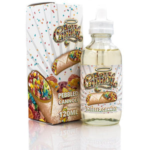 Pebbled Cannoli 120ml | Holy Cannoli eLiquid