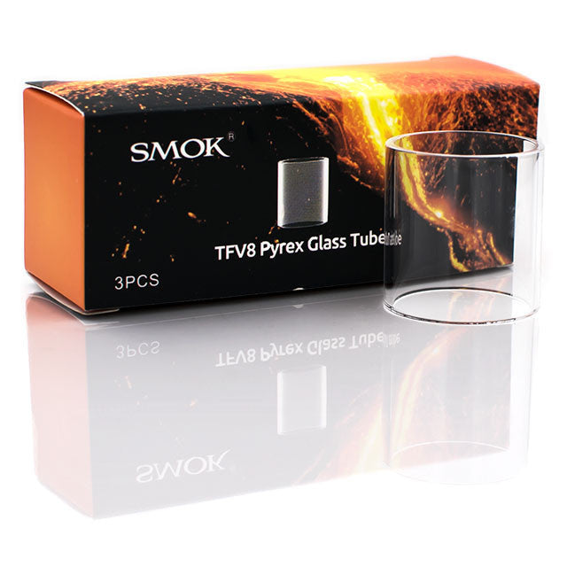 SMOK | TFV8 Replacement Glass Tube -3pk
