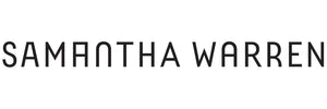 Samantha Warren bespoke brand logo by Tom Foley