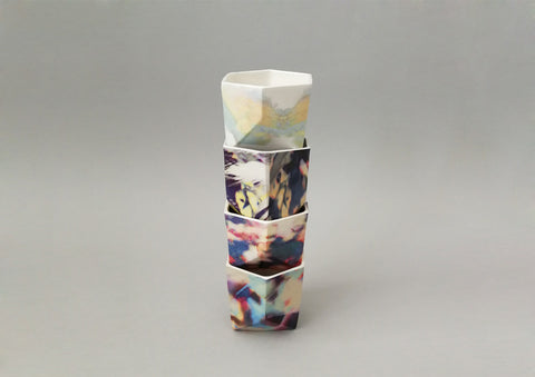 printed ceramic collection, Samantha Warren