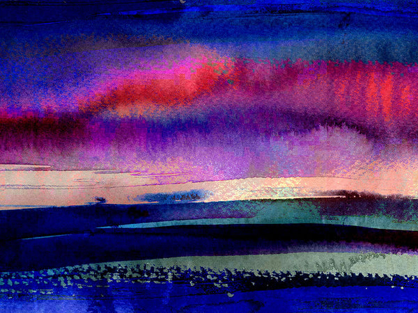 Watercolour ink painting