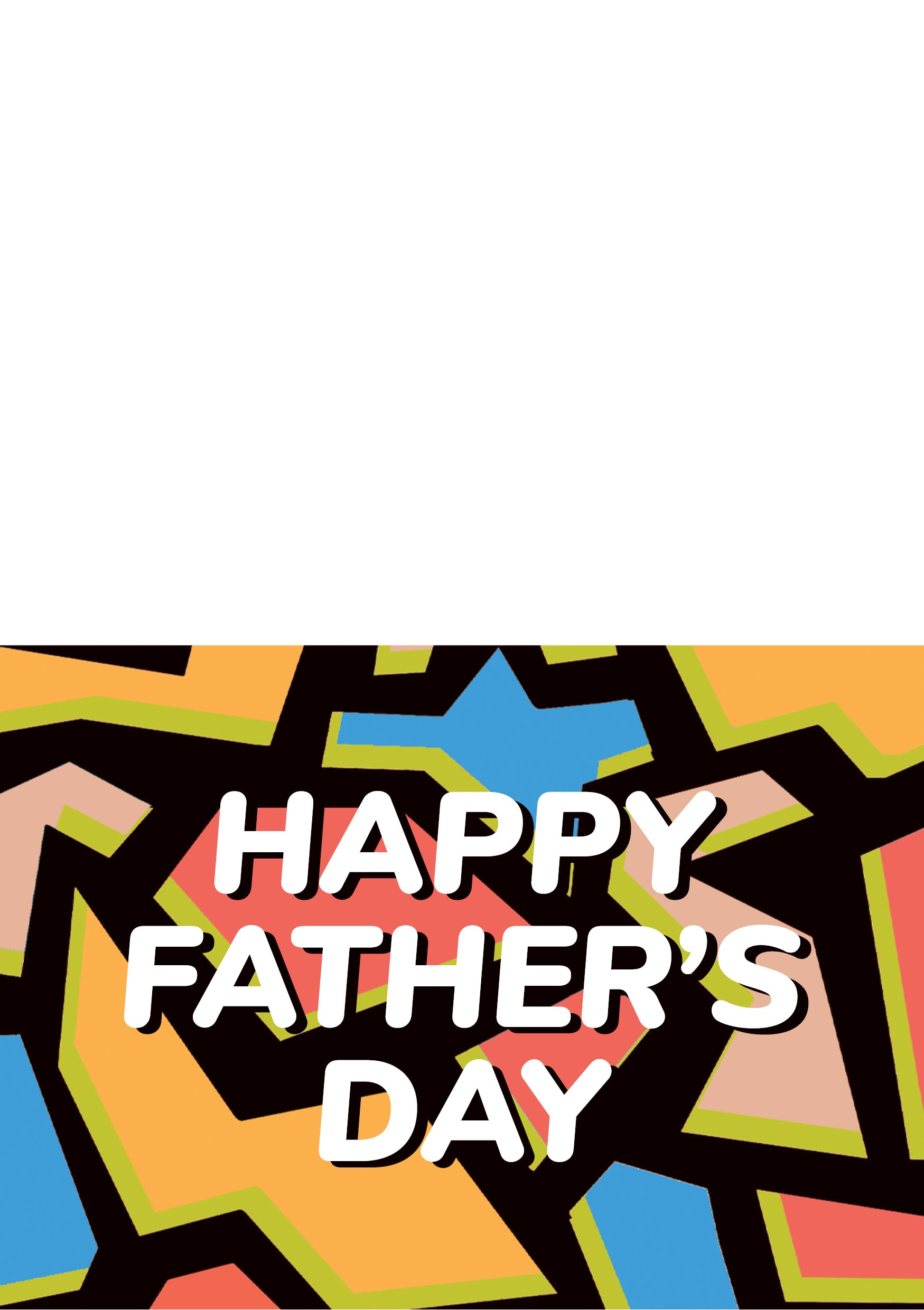 Father's Day Downloadable Greeting Card 2