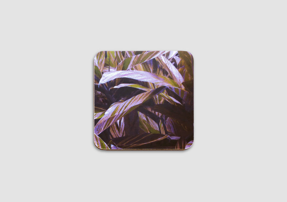Leaf design coasters by Samantha Warren