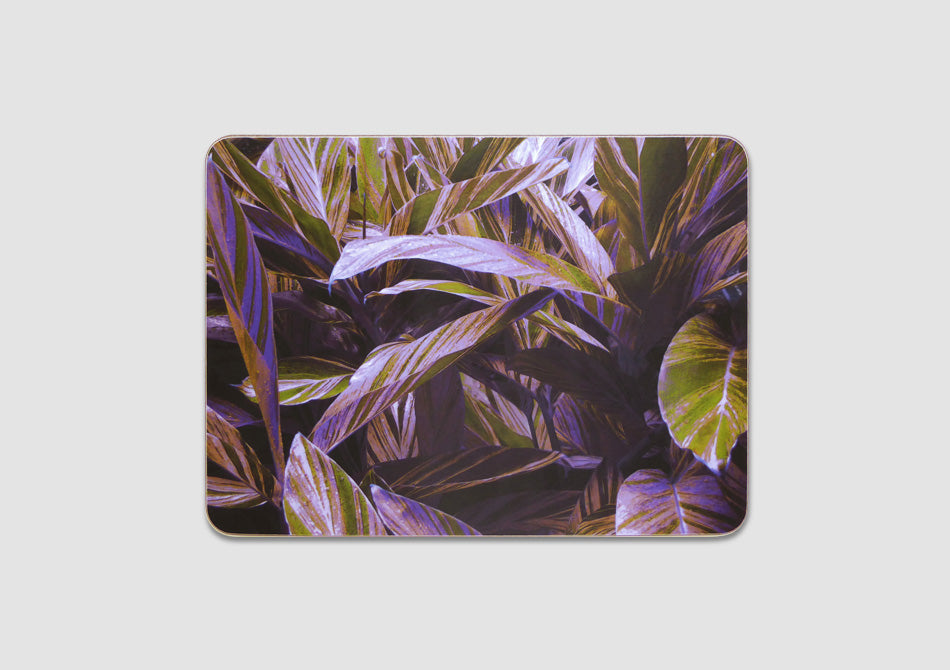 Leaf design placemats, Samantha Warren