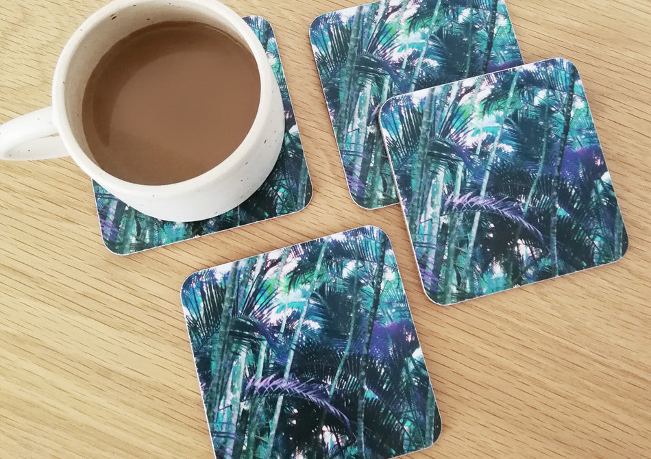 Bamboo Coasters - Set of two
