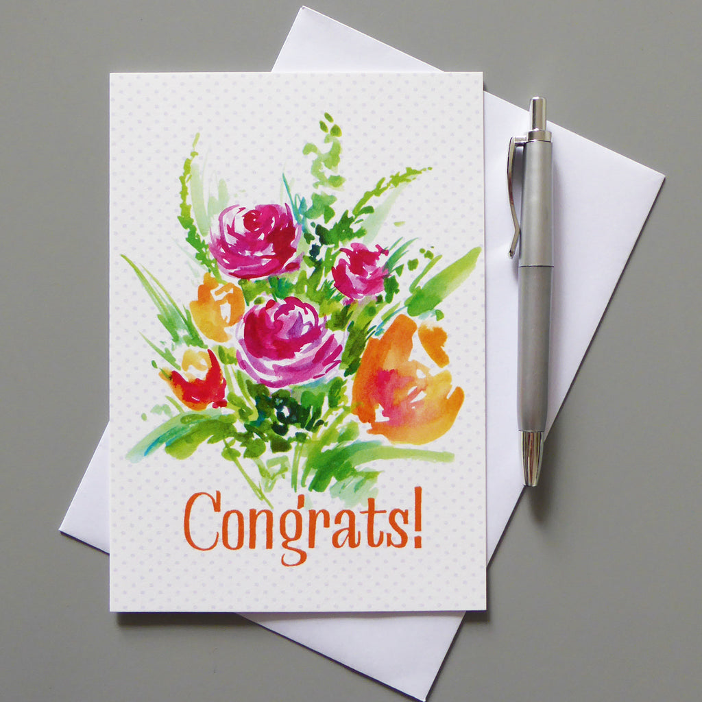 Congrats Greeting Card - Samantha Warren