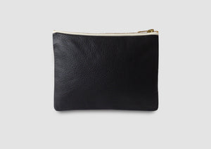 Black leather bag Samantha Warren