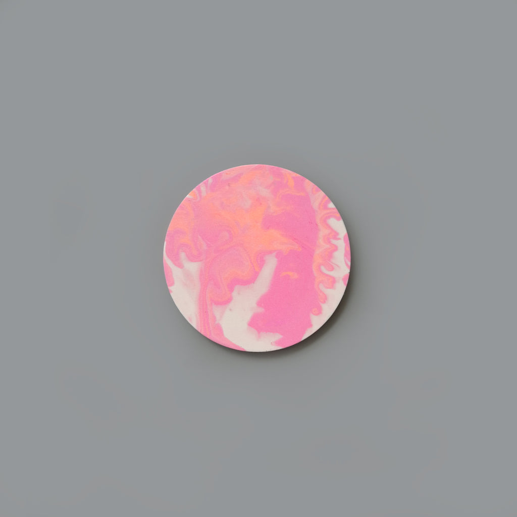 Coaster - Pink Marble