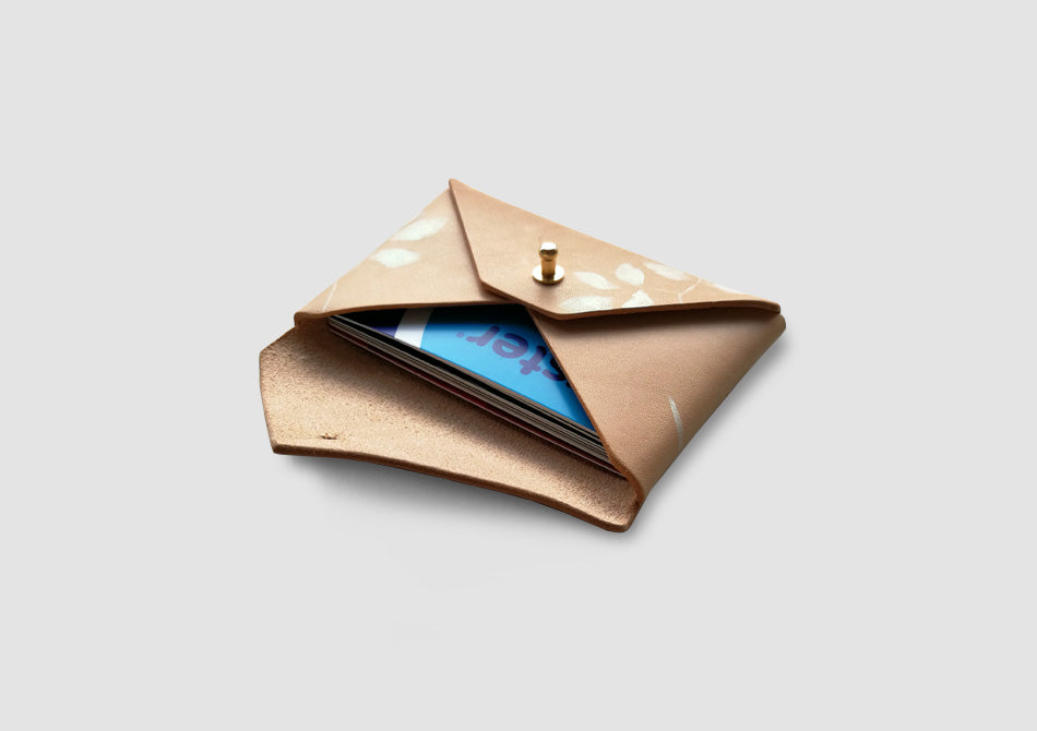 Dawn Leather Card Holder and Coin Purse - Samantha Warren