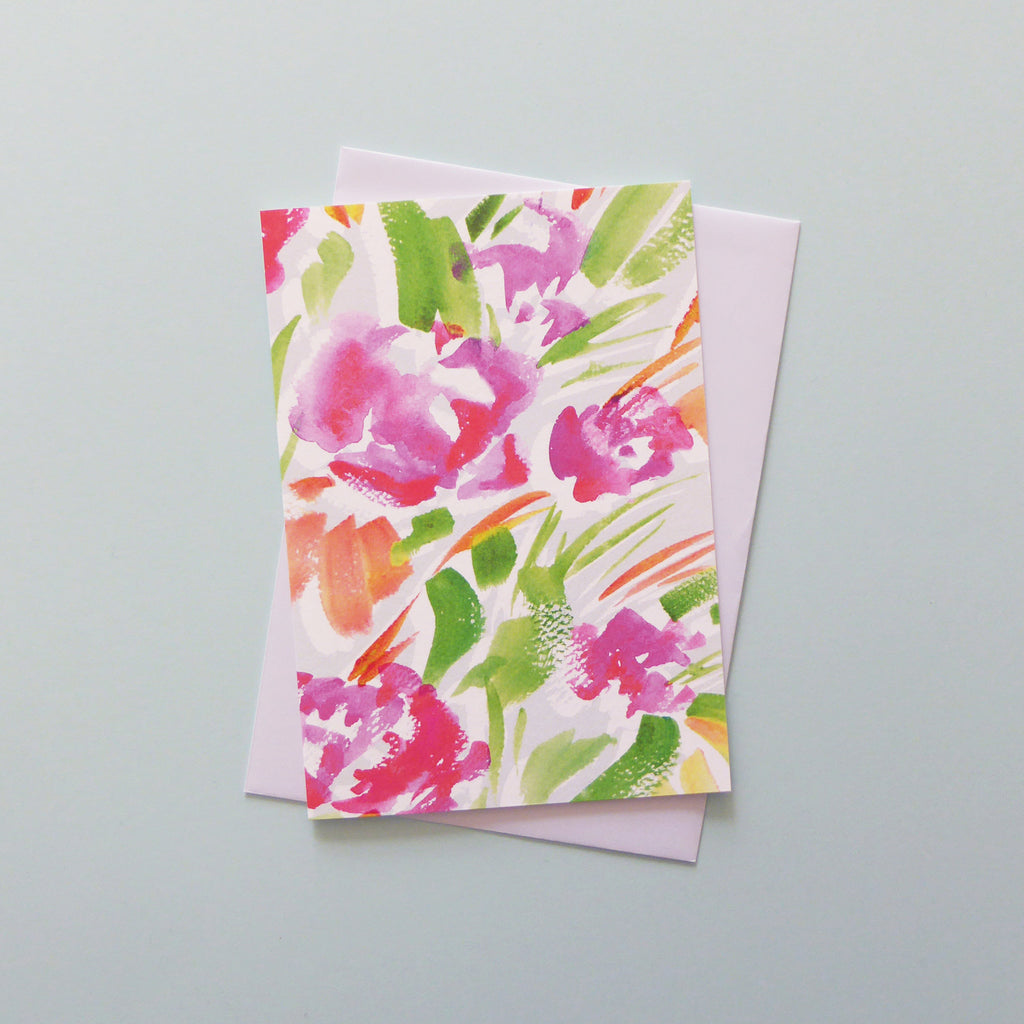 Ellie Floral Card
