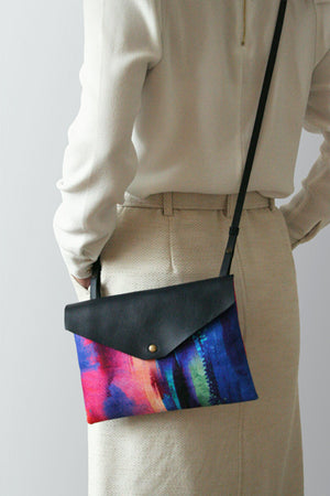Freyja Leather Crossbody Bag