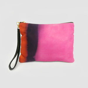 Fuchsia Pink Natural Hand-dyed Bag
