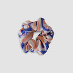 Geometric Silk Scrunchie
