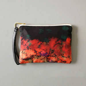 Ingi Silk and Leather Bag