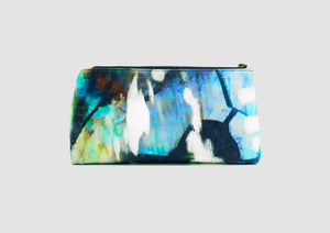 Bold abstract art printed bag. Samantha Warren