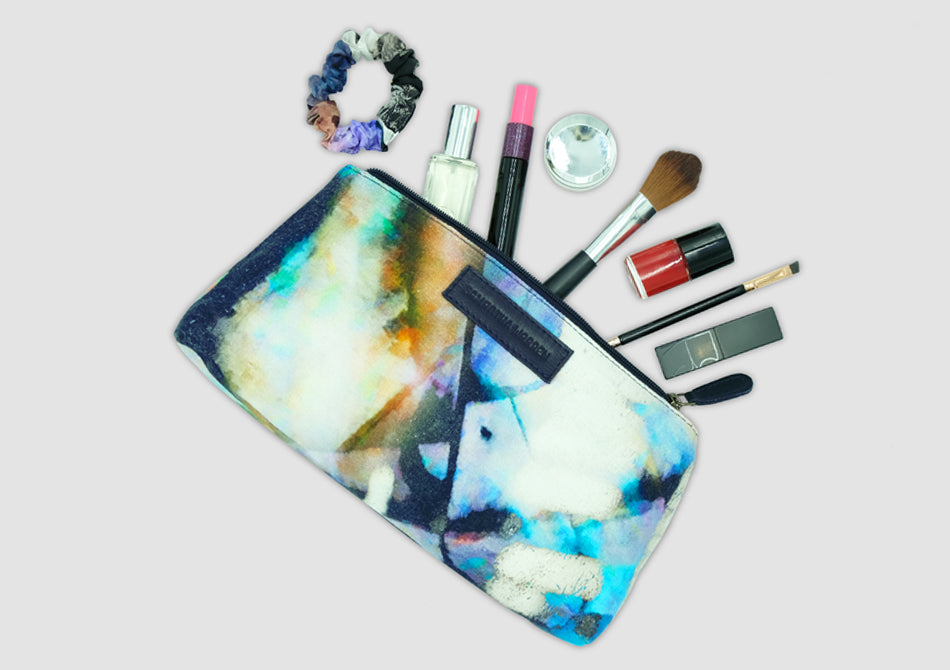 Arty cosmetic bag