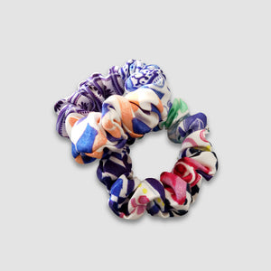 Mulitcoloured Scrunchie Set