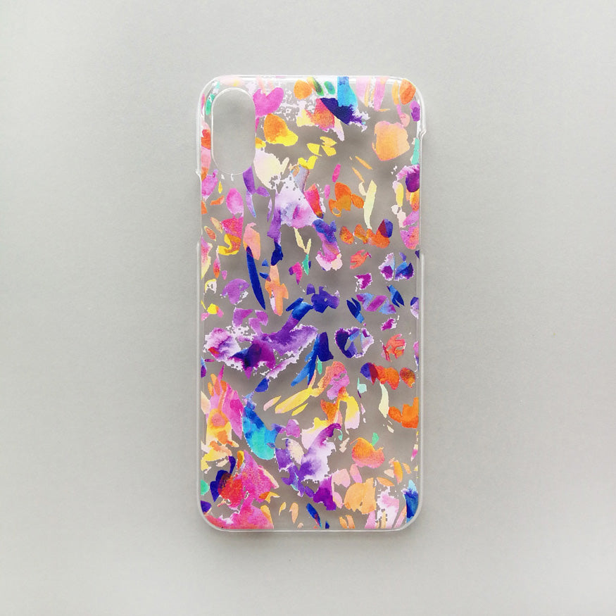Multicoloured phone case