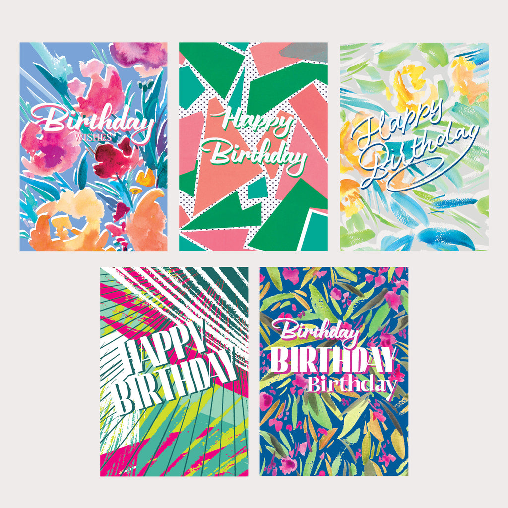 Multipack of Birthday Cards
