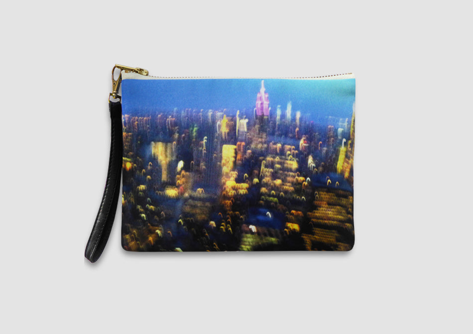 New York City print bag by Samantha Warren