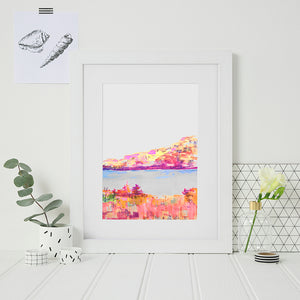 Scottish Loch Print