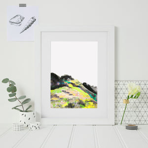 Scottish Mountain Print