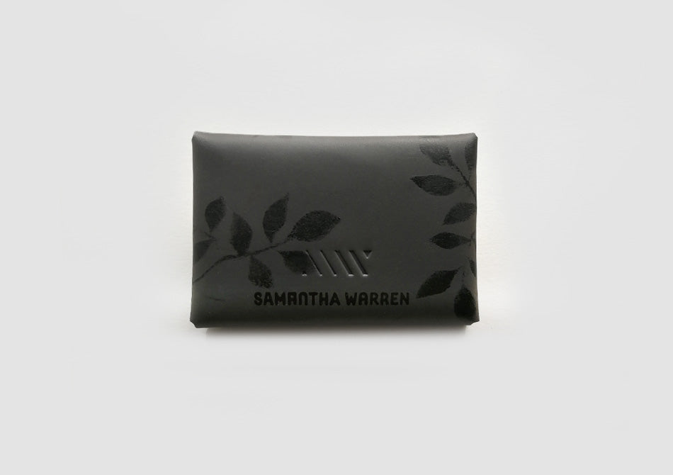 Twilight Leather Card Holder and Coin Purse - Samantha Warren