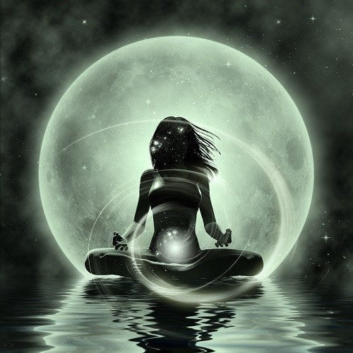full moon contentment chakras body mind soul
