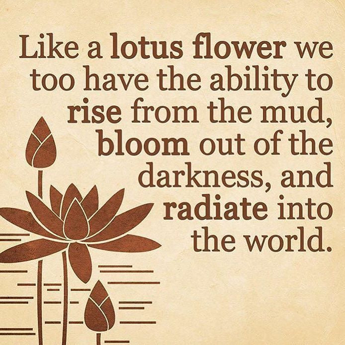 lotus, rise above, radiate, psychic, reiki