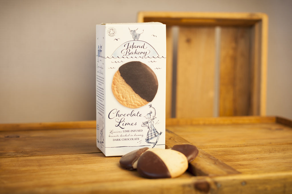 Organic Chocolate Limes Biscuits - Island Bakery