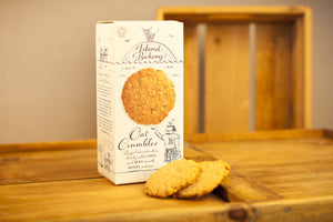 Organic Oat Crumbles Biscuits - Island Bakery