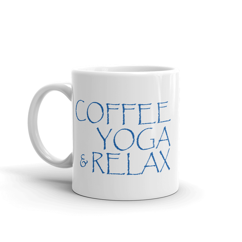 Coffee YOGA & Relax - Coffee Mug