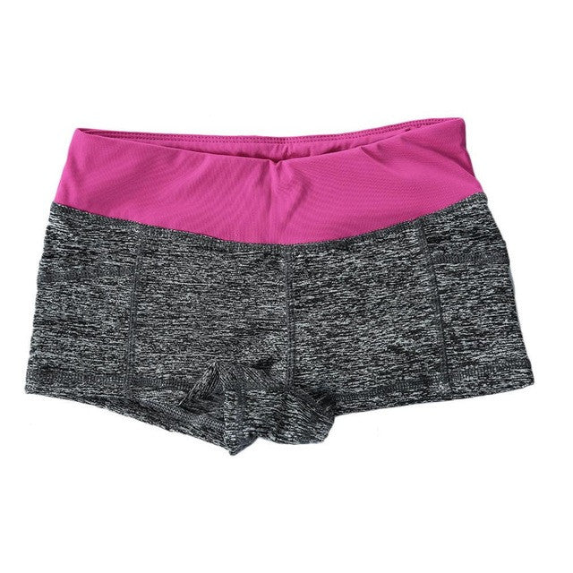 Breathable Womens Yoga Shorts
