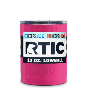 RTIC Stainless Lowball Tumbler - BLANK