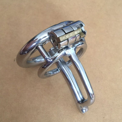 Stainless Ureathral Point One Chastity Device