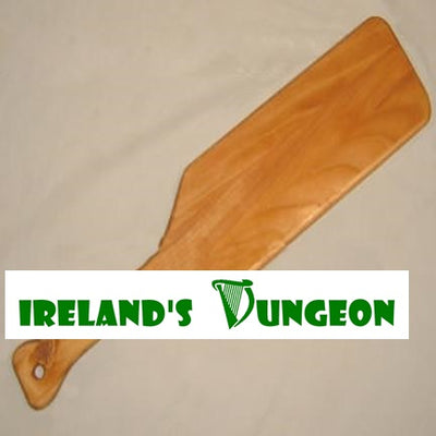 The Cheeseboard Monster Wooden Paddle - Irelands Dungeon