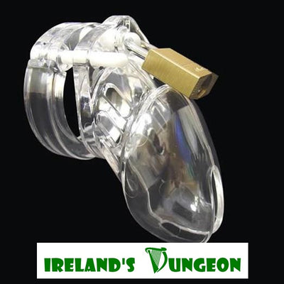 CB-6000S Cock Cages - irelandsdungeon -Silicone Male Chastity Cages-bdsm gear