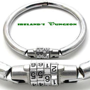 Combination Lock Number Lock Slave Collar - irelandsdungeon