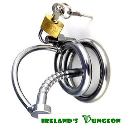 Lockable Prince's Wand Bondage Cock Cage - Irelands Dungeon